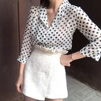 polka dot retro shirts 3087