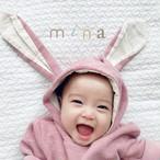 【即納】064 ラビットロンパース 出産祝い  女の子 男の子 赤ちゃん