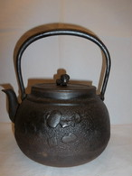 鉄瓶(宝尽くし)iron kettle(treasure)(No20)