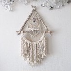 Triangle driftwood wallhanging