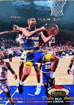 NBAカード 92-93TOPPS Billy Owens #195 WARRIORS