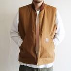 is-ness【 mens 】coj reversible duck × fleece vest