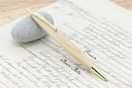 受注生産 長崎産「ひのき」手作りシャープペンシル0.7mm芯 軸Mサイズ