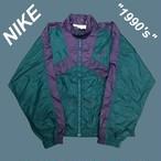 【1990's】ナイキNIKE☆ワンポイント刺繍ナイロンジャケット M1369