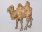 革製ラクダの置物 Leather camel figurine(made in Japan)