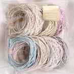 【お買い得品】アジアンヘンプ(ラメ糸加工)残り糸セット(約28g)【ネコポス発送可能】