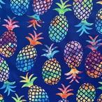 パイナップル生地・真夏のパイナップル * 45×110cm