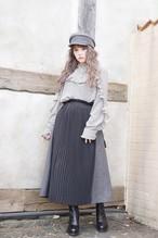 Pleat Design Skirt
