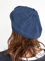meri ja kuu(メリヤクー)大地の柱 コットンベレー帽 UNISEX
