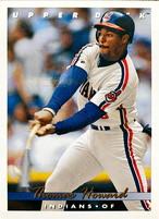 MLBカード 93UPPERDECK Thomas Howard #299 INDIANS