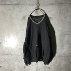 [NIKE] logo pointed pullover