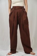 曖昧なズボン fuzzy Gurkha pants オリジナル生地
