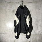 [PUMA] black × white nylon jacket