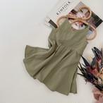 【petitmig-プチミグ】コットンキャミドレス