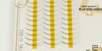 【0.07mm 】4本フレア Cカール