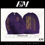 【FaM・IF I FELL受注限定カラー】FaM long sleeve T-shirts