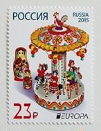 木のおもちゃ / ロシア 2015