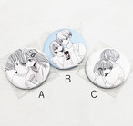 ふせでぃ / 缶バッチ3種(A~C)セット