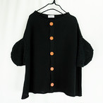CIRCLE SLEEVES KNIT CARDIGAN / WOMEN