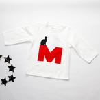 「M」cat7分袖Tシャツ