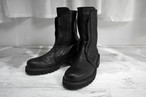 masnada / BACK ZIP BOOTS / LIMITED BLK