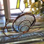 ガラスのカタツムリ インテリア