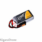 【4S 650mAh】TATTU FPV 650mAh 14.8V 75C 4S Lipo Battery  with XT30コネクター