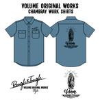 VOLUME ORIGINAL / 0864 CHAMBRAY SHIRTS