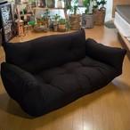 ソファー  二人掛け もこもこ 肌触りが気持ちいいワッフル生地 リクライニング 5段階 ソファ 日本製