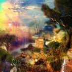 絵画 縁起画 モダン シェアハウス アートパネル アート 水彩画 自然 風景 14cm×14cm 一人暮らし 送料無料 インテリア アートパネル 雑貨 壁掛け 置物 おしゃれ 画家 : MIYUKI K 作品 : Forest