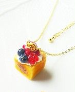 【CHITTO】no.a0110201  ミニハニートーストネックレス(ベリー)