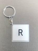 キーホルダー【R】乳白角