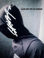 【少量在庫分販売:最終入荷です】LAHMドライジップアップフーディー/DRY zip up hoodie(ラッシュガードとしても)【サブマリンガイドサービス コラボアイテム】 LAHM