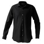DJS-767 decollouomo メンズドレスシャツ 長袖 overture - ブラック