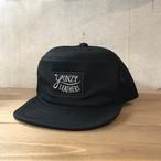 YONZY leather Tracker Cap BLACK