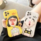 【オーダー商品】 Funny boy girl iphone case