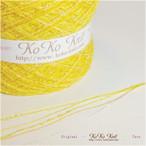 §koko§ 明日天気にな~れ 1玉54~59g オーロララメ、イエローオレンジ、引き揃え糸、毛糸  オリジナル編み糸