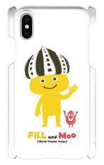 【工場直送】フィルとムーのスマホケース(iPhone X )