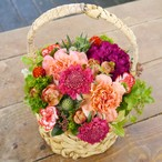【Mother's Day Gift】Red color Basket flower L