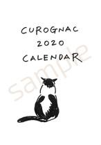 【予約受付中!10月下旬発送予定】CUROGNAC2020CALENDAR
