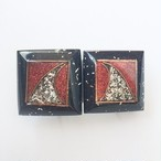 modern square design earring[e-887]