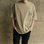 Triple Six Big T-shirt Beige