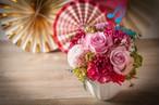 【母の日ギフト・プレゼント】アレンジメント-ハーモニー- 〈花:カーネーション〉