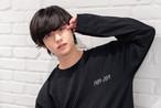 平成ゆとりTシャツ長袖 ブラック