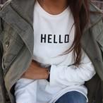 HELLOトレーナー/ホワイト