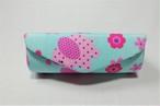 (OB014-4) リップケース(ミニミラー内蔵)ピンク象&水色