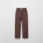 BASIC JEANS / BROWN