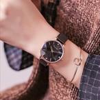 kimio AF-6305(Black) レディース腕時計