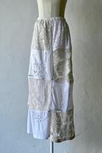 【MALION vintage】crochet lace skirt-D
