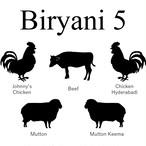 ビリヤニ全5種セット